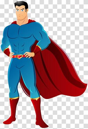 homem com ilustração de capa, Superman Flash Diana Prince Batman, Super-herói png