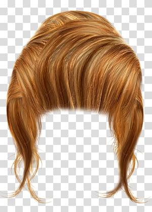 ilustração de cabelo loiro, penteado loiro, cabelo loiro PNG clipart
