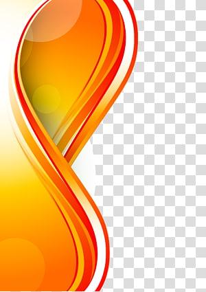 ilustração de quadro amarelo, branco e laranja, fundo euclidiano, painéis png