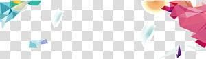 Fundo irregular bandeira geométrica, ilustração multicolorida PNG clipart