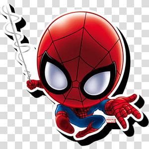 Ilustração do bobblehead do Homem-Aranha, Desenho do Homem-Aranha Chibi Miles Morales, chimichanga png