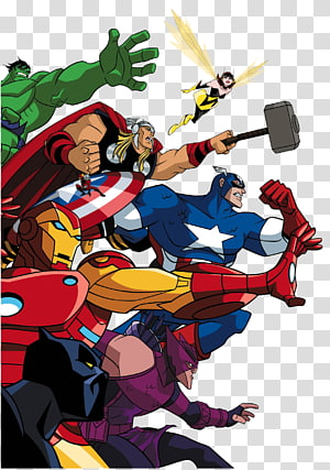 Vingadores desenhos animados ilustração, Doctor Doom Universo Marvel Vingadores Heróis mais poderosos da Terra, Marvel Comics Marvel Cinematic Universe, Vingadores png