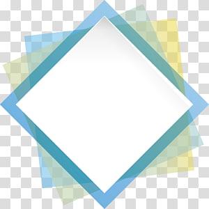 fundo branco e azul, forma geométrica azul retângulo de geometria, caixa de geometria png