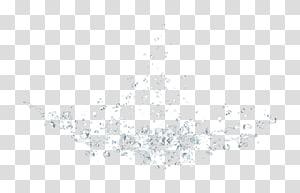 Padrão preto branco, gotas de água azul bonita png