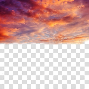 Nuvem céu pôr do sol, belo pôr do sol, panorâmica de nuvens stratus laranja PNG clipart