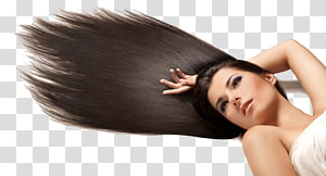 mulher vestindo blusa branca, Shampoo penteado Facial Corte de cabello, modelo de cabelo PNG clipart