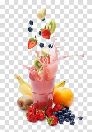 Batido Batido Shake para a saúde Perda de peso Dieta, suco de frutas, morangos e frutas negras png