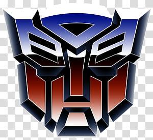 logotipo azul e vermelho do Autobots, Transformers: The Game Optimus Prime Bumblebee Autobot, transformador png