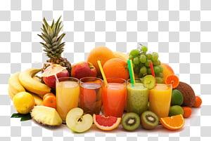 frutas e sucos variados, suco de laranja Cocktail Juicer de frutas, sucos de frutas png