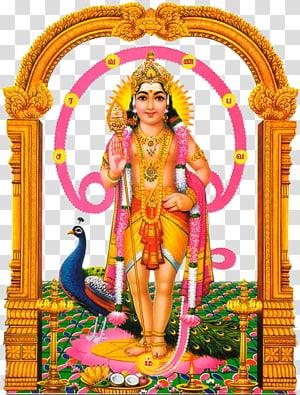 Ilustração da Deidade Hindu, Om Saravana Bhava Shiva Kartikeya Ganesha, Murugan PNG clipart