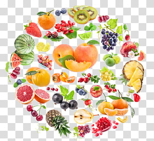 ilustração de variedade de frutas, frutas vegetais alimentos Hwachae, frutas frutas png