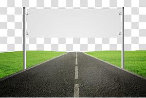 Superfície da estrada Asfalto Passadeira, Estrada reta png