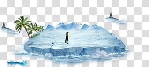 Iceberg antártico, iceberg PNG clipart