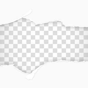 Arquivo de computador de papel, material de fundo de papel rasgado png