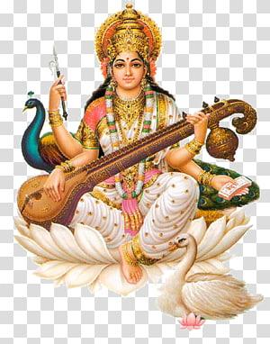 saraswati hinduísmo devi ganesha basant panchami, hinduísmo PNG clipart