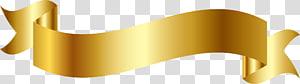 ilustração de fita de ouro, fita, design de fita de ouro png