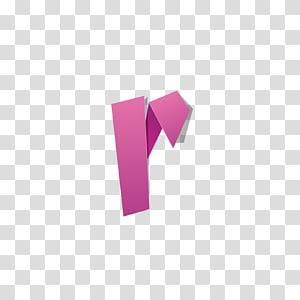 origami rosa, alfabeto Inglês de letra, letra de origami vermelho R PNG clipart