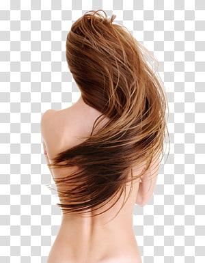 cabelo castanho, penteados Integrações artificiais, salão de beleza, cabelos PNG clipart