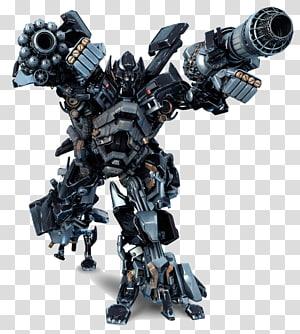 personagem robô preto e cinza, Ironhide Optimus Prime Mudflap Starscream Transformers: The Game, transformers png