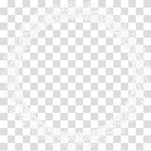 ilustração de ilusão de ótica, padrão de simetria de linha preto e branco, armação de borda de renda PNG clipart