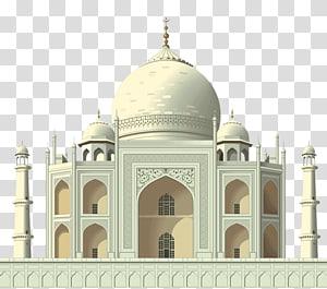 Taj Mahal cinza, ilustração da Índia, Taj Mahal, Taj Mahal PNG clipart