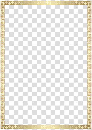 Retângulo de ouro, borda dourada Deco, dowload de moldura dourada png